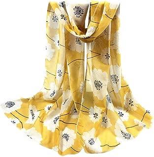 NUOVI Donna Foglia Di Fiore Glitter ricamato Luce Estate Sciarpa Hijab Alla Moda