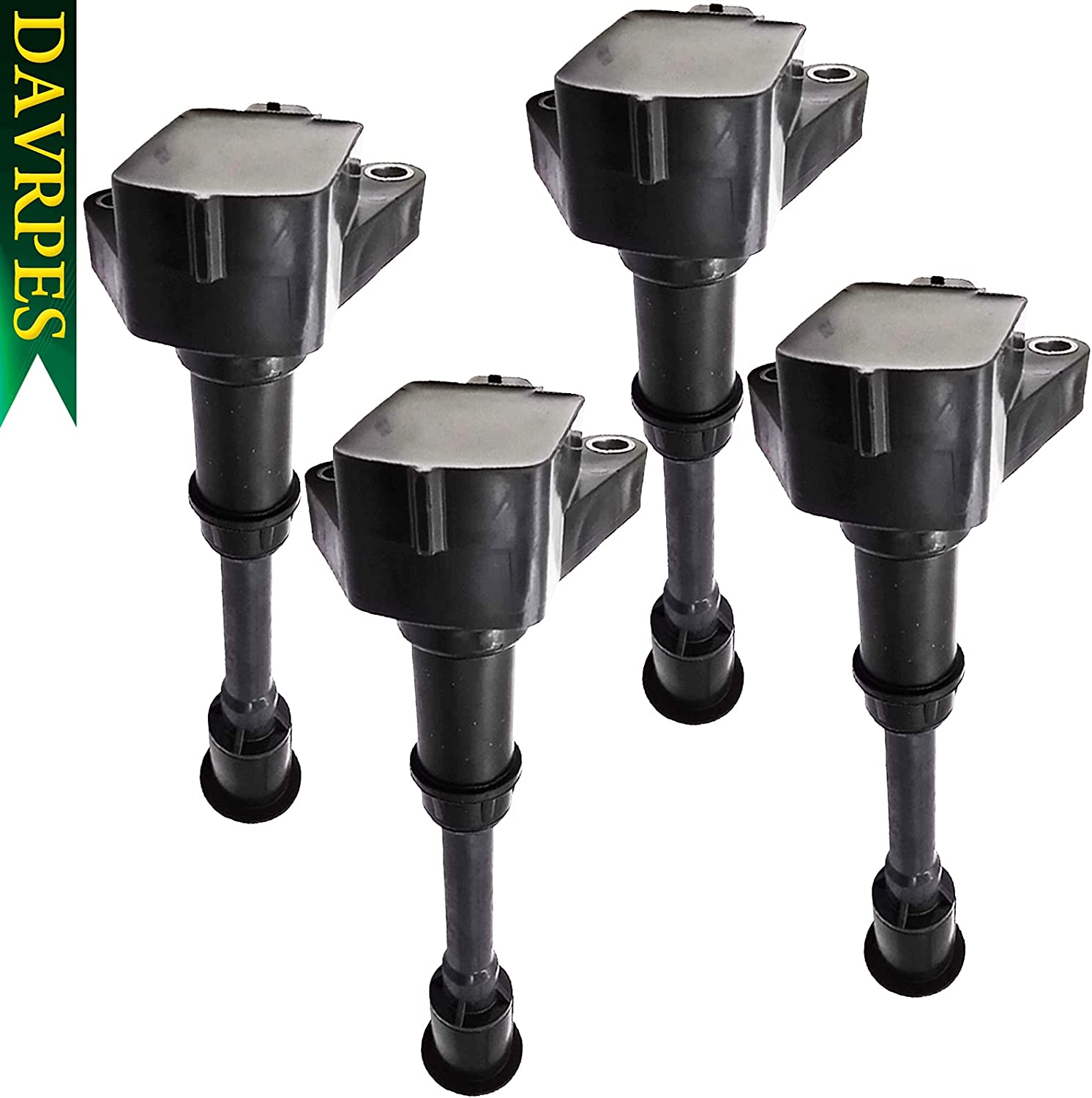 Ranking integrated 1st place DAVRPES 4Pcs Direct Ignition Coil Clearance SALE! Limited time! Escape For Ford Fie Compatible