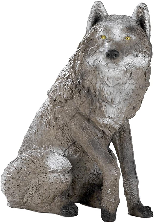 FRANZBOGEN - Sitzender Sitzender Sitzender Wolf B01NBCK002  Gutes Design 6247a4