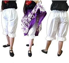 フラダンス アンダーパンツ ホワイト 子供~大人 大きいサイズあり 日本製 綿ポリでしわ知らず フラ衣装 フォークダンスにも