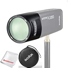Godox Witstro H200R Round Flash Head for AD200 AD200Pro 200Ws 2.4G TTL Flash Ring Flash Head with Storge Box