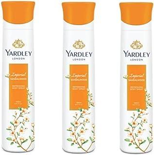 Yardley London Sandalwood Deodorant For Women 150-ML (Pack of 3)