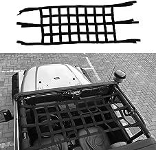 Eurason Auto Sunshade Top Cover,Top Roof Mesh Provides UV Sun Protection for Jeep Wrangler JK JKU 2007-2017 4 Door US Flag