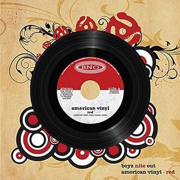 American Vinyl - Red