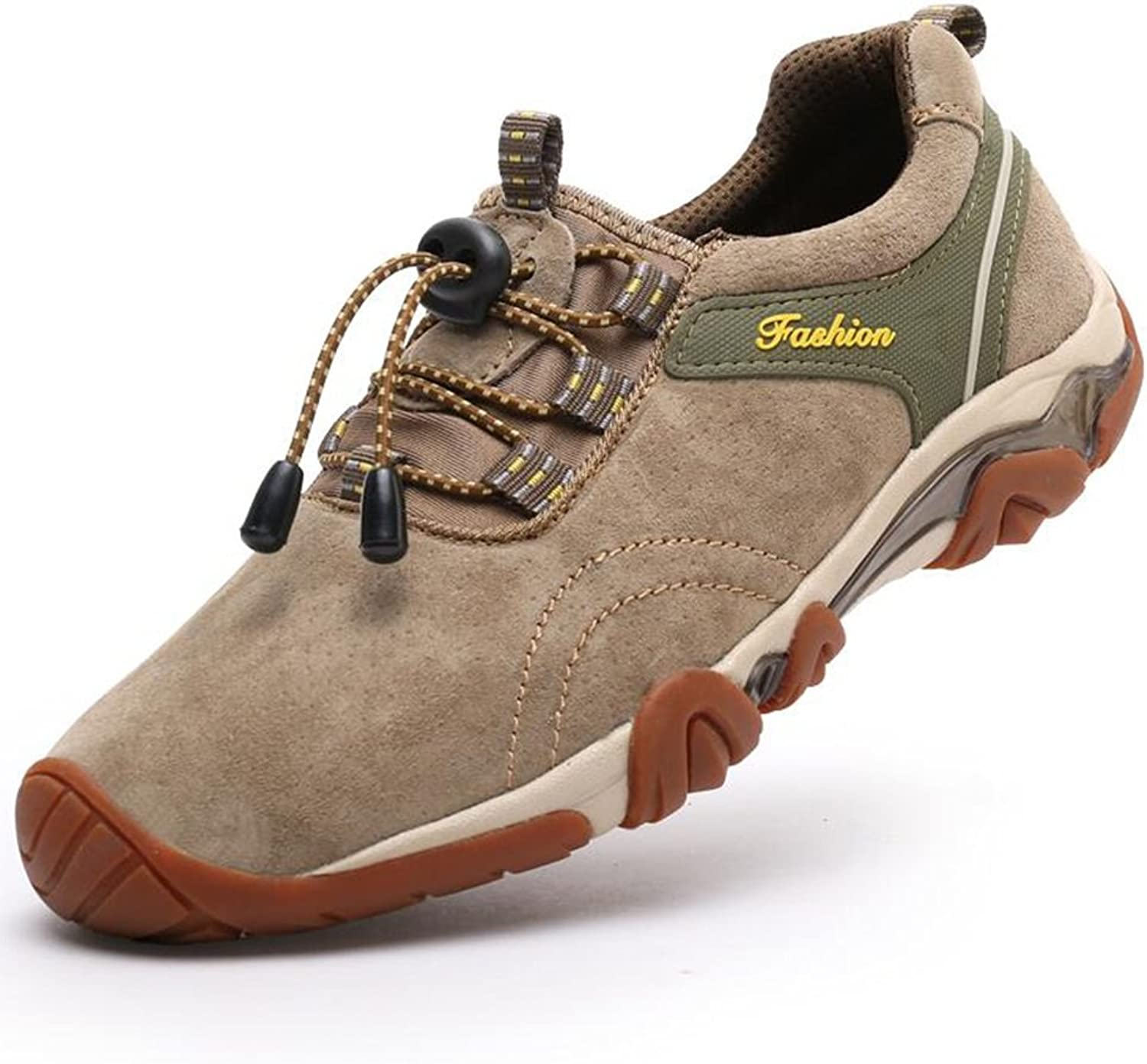 SUN Hiking shoes Outdoor Casual Sports shoes Elderly Father 30-40-50 Years Old (color   5, Size   EU39 UK6.5 CN40)