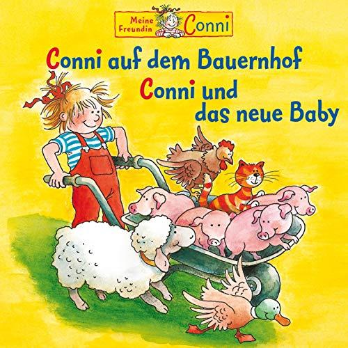 Conni auf dem Bauernhof / Conni und das neue Baby Titelbild