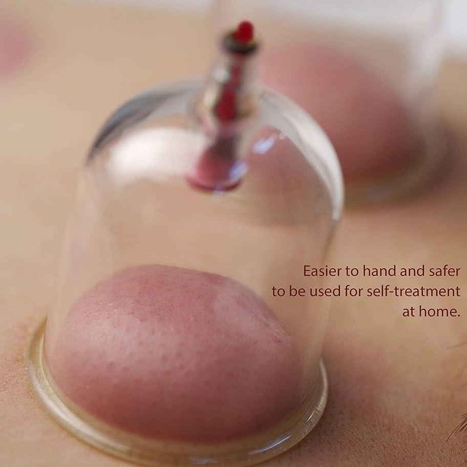 鮮やかな一般的に言えば嘆願Cupping Set 6 Cups Household Slimming Vacuum Medical Massage Acupuncture Champion Therapy Massage Device Set