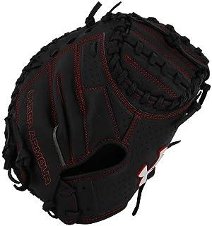 "Under Armour Baseball UACM-100Y Framer Series Baseball Catching Mitt, Black, Youth 31.5"""
