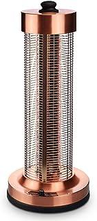 Radiador eléctrico MAHZONG Calefactor de Cristal de Carbono Calefacción doméstica de Cuatro Lados Vertical Ahorro de energía -1200W