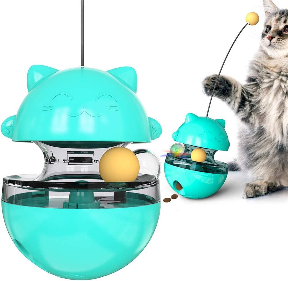 Cat Baltimore Mall [Alternative dealer] Treat Dispenser Ball Toys Toys,Int nteractive Educational