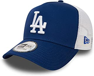 New Era Los Angeles Dodgers Frame Adjustable Trucker Cap Clean Royal/White - One-Size