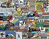1000-teilige Puzzles für Erwachsene - Schwieriges Puzzle
