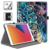 Case for New iPad 8th Generation 2020 / 2019 7th Gen iPad Cases with Premium PU Leather, Auto Wake/Sleep Lightweight Smart Cover for iPad 10.2 Inch