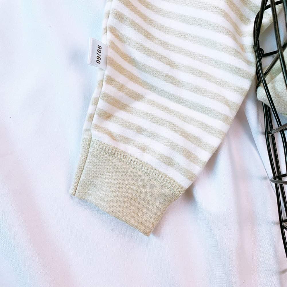 Ctskyte Little Kids Pants Sets Cotton 2-Piece Pjs Long Sleeve Snug-Fit Clothing Sets