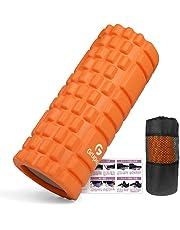 KOOLSEN フォームローラー 筋膜リリース グリッドフォームローラー ヨガポール トレーニング スポーツ フィットネス ストレッチ器具