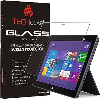 TECHGEAR Vidrio Compatible con Microsoft Surface 2 (Pulgada 10.6