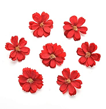 Fake flower heads in bulk wholesale for Crafts Artificial Silk Flowers Head Peony Daisy Decor DIY Flower Decoration for Home