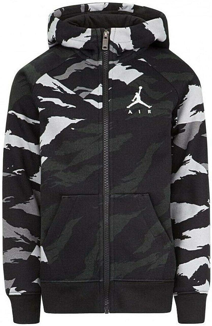 Jordan Boy's Youth Jumpman Wings Zip Camo Fleece Hoodie Size M, L, XL