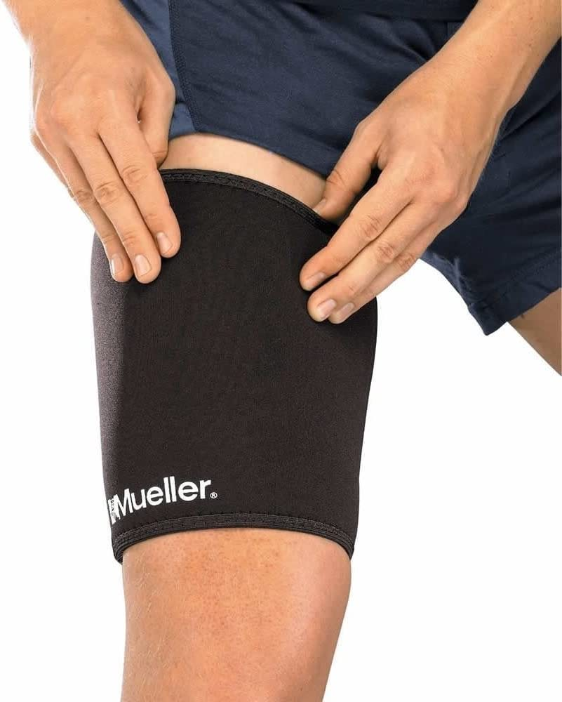 Mueller Sports Medicine Compression Super intense SALE Thigh Support Neopren Sleeve Overseas parallel import regular item