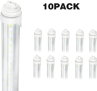 LED Tube Light,R17D 5FT 24W F60T12/CW/HO,Vending Cooler Freezer Fluorescent Replacement (10-Pack 5500k)
