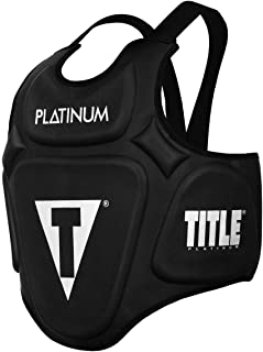 Title Boxing Platinum Prolific Body Protector, Black
