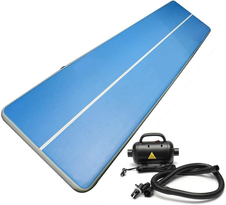 10' X 6.4' 3M X 2M Inflatable Air Tumbling Track Inflatable Gym Mat Gymnastics Mat