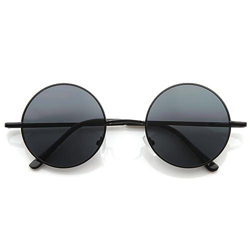 f36fcd2b97 MLC Eyewear Retro Vintage Round Sunglasses UV400