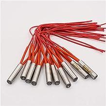 Popular 10 stks Roestvrijstalen 10x40mm Cartridge Heater 10mm Tube Dia. 2 4V / 36V / 110V / 220V / 380V 100W Enkel einde e...