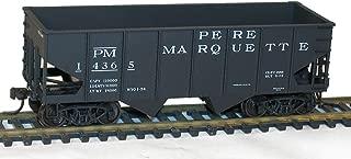 USRA 55-Ton 2-Bay Open Hopper - Kit -- Pere Marquette #14365 (black)