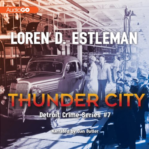 Thunder City audiobook cover art