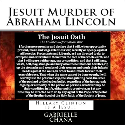 Jesuit Murder of Abraham Lincoln audiobook cover art