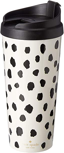 Flamingo Dot Thermal Mug