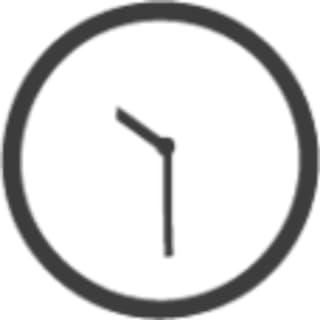 透明桌面时钟