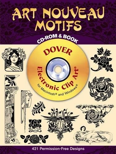 Compare Textbook Prices for Art Nouveau Motifs CD-ROM and Book Dover Electronic Clip Art  ISBN 9780486995199 by Dover