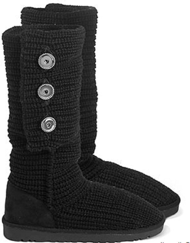 Ginger Snaps Aspen Sweater Boots Black