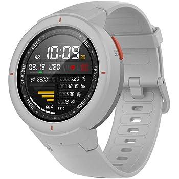 """Amazfit Verge Smartwatch con Alexa integrada,GPS Integrado,Rastreador de Actividad,RAM 512M,ROM 4GB,1.30"""" AMOLED,Resolución 360x360 Blanco"""