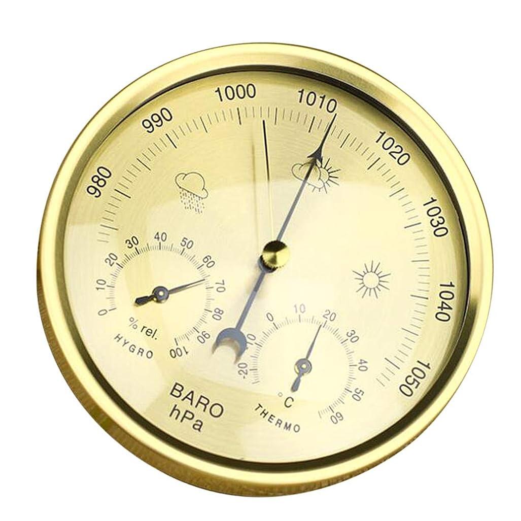 にもかかわらず知恵海賊B Baosity ウォール バロメーター 温度計 湿度計 ウェザーステーション 吊り下げ式 壁掛け デコレーション - 1