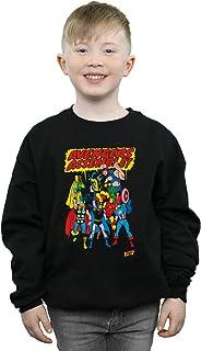 Marvel Comics Niños Avengers Assemble Camisa De Entrenamiento