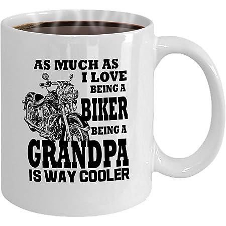 Grandpa Biker Gift Grandpa Motorcycle Mug 11oz//15oz Details about  /Grandpa Biker Mug