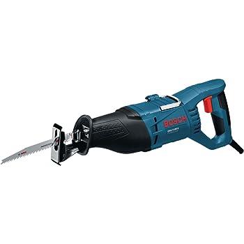 Bosch Professional GSA1100EProfessional Scie Sabre GSA 1100 E (1100 W, 1 Lame de Scie Sabre S 2345 X pour Bois, 1 Lame de Scie Sabre S 123 XF pour Métal, dans Coffret) Bleu