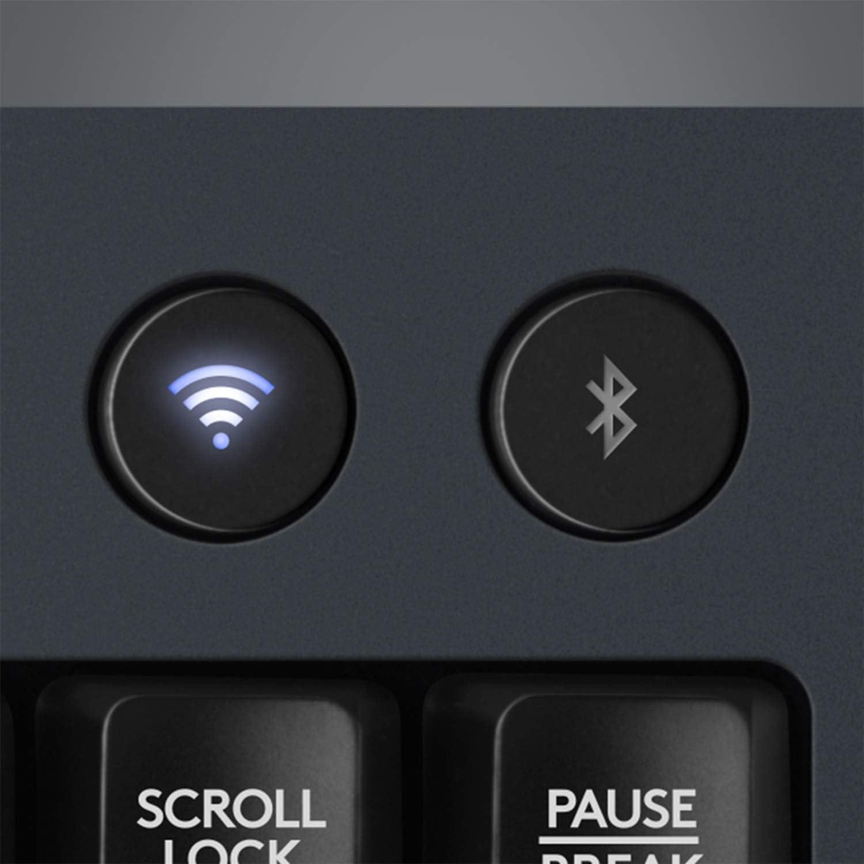 Logitech G613 LIGHTSPEED Wireless Mechanical Gaming Keyboard, Multihost 2.4 GHz + Blutooth Connectivity - Black