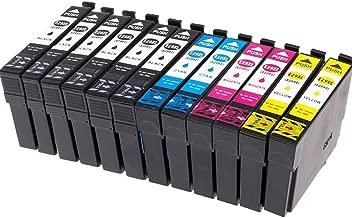 Ouguan® 12x Cartuchos de Tinta Epson 29 29XL Compatible con Epson Expression Home XP-245 XP-442 XP-342 XP-345 XP-332 XP-235 XP-432 XP-335 XP-435 XP-247 XP-445