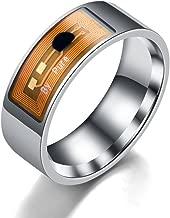 NFC Smart Ring,Vanvler Waterproof Intelligent Ring Finger Digital Ring Smart Wear Multifunctional Jewelry