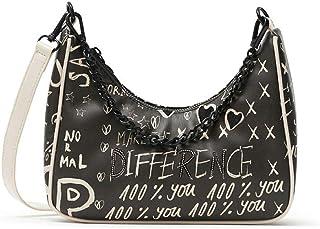 Desigual Damen Pu Shoulder Bag, U
