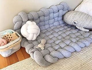 Tapis mou de tapis de tapis de jeu noué à la main noué à la main de nouveaux enfants, tapis tissés de tapis antidérapants ...