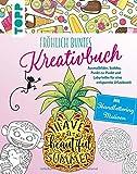 Fröhlich buntes Kreativbuch: Ausmalbilder, Sudoku, Punkt-zu-Punkt und Labyrinthe für eine...
