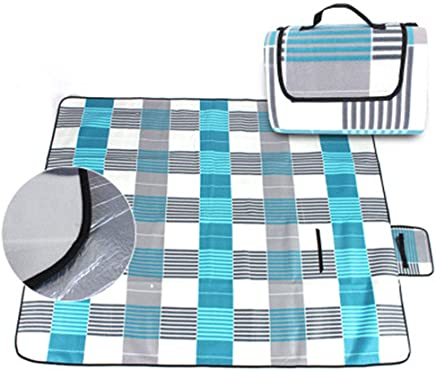 Pessica Tragbare Picknick-Matte Single-Faced Samt-Picknick-Matte Fine Wildlederkrabbelmatte Foldable Beach Matte,200  150cm B07Q7PP9BR | Üppiges Design