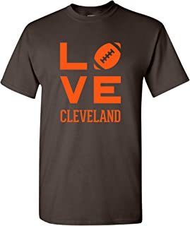 Town Love Football - Sports Team City Pride Tailgating T Shirt