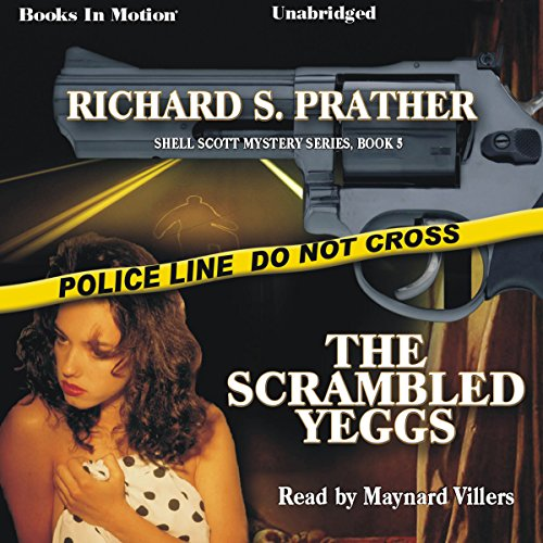 The Scrambled Yeggs audiobook cover art
