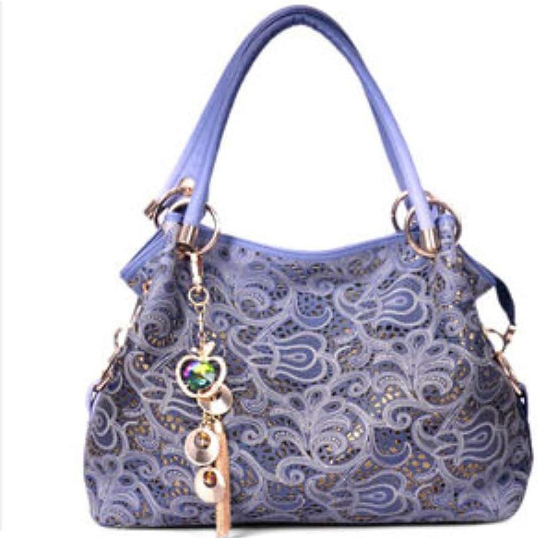 Ladies Faux Leather Handbags Sequins Shoulder Bags Totes Bags for Women